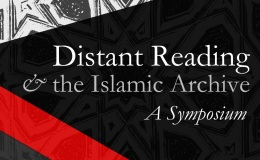 Distant Reading and the IslamicArchive
