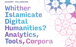 Whither Islamicate Digital Humanities?(CFP)